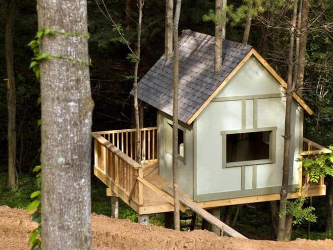treehouse roof ideas