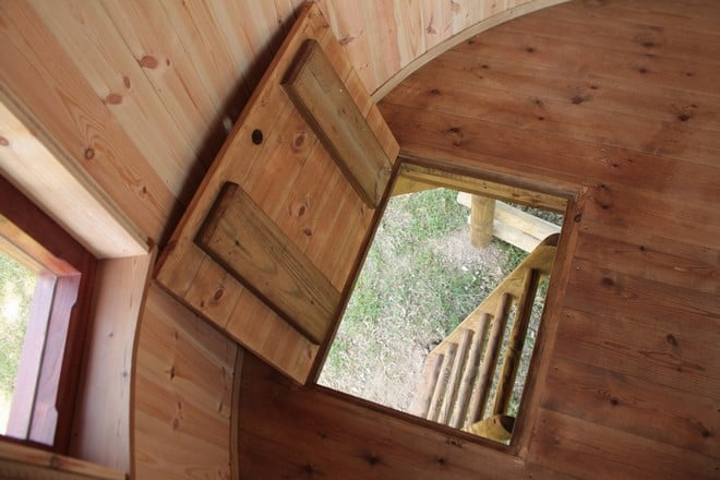 treehouse trapdoor ideas