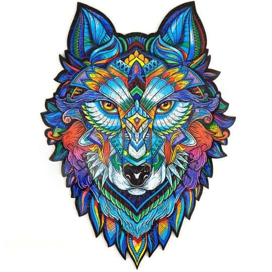 jigsaw puzzle wolf