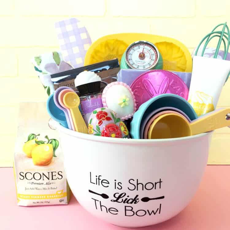 Baking Gift Easter Basket For Tweens