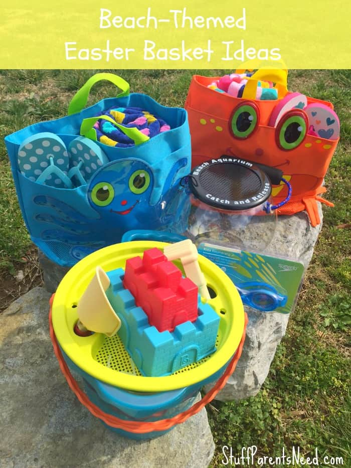 Beach-Themed Easter Basket For Teen Girls