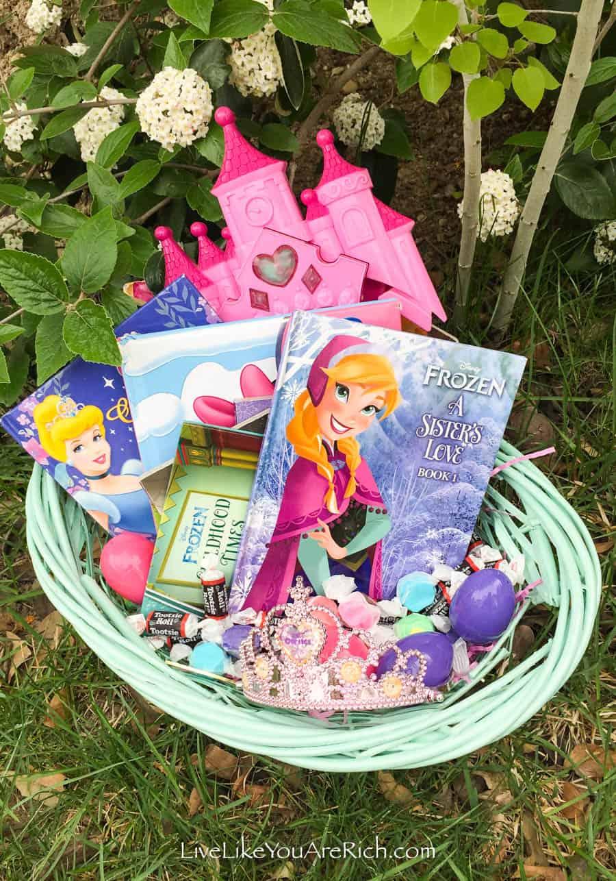 Book-Themed Easter Basket For Tweens