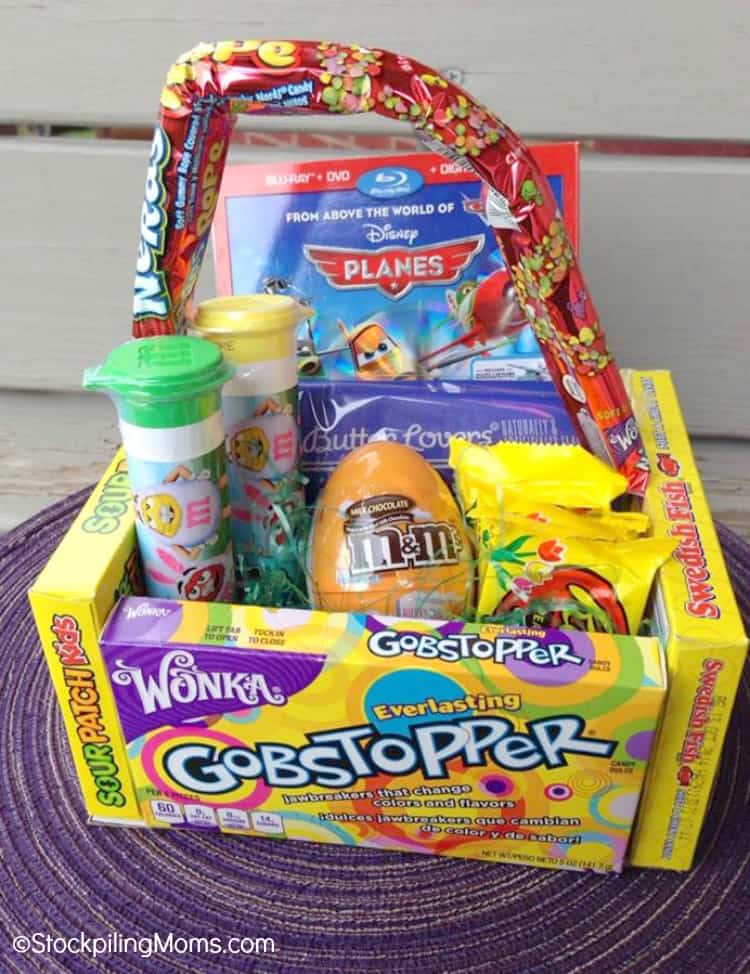 Candy Themed Easter Basket For Teens & Tweens