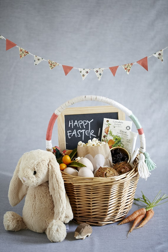 Healthy Treats Easter Basket For Teenagers