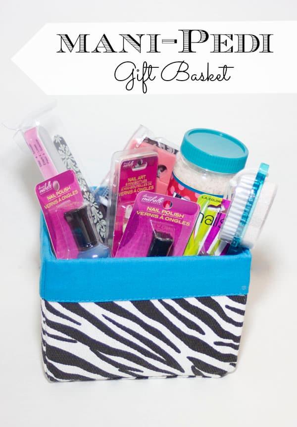 Mani-Pedi Gift Easter Basket