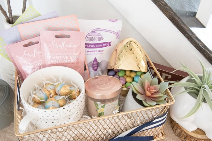 Spa Day Easter Basket Gift For Teenage Girl