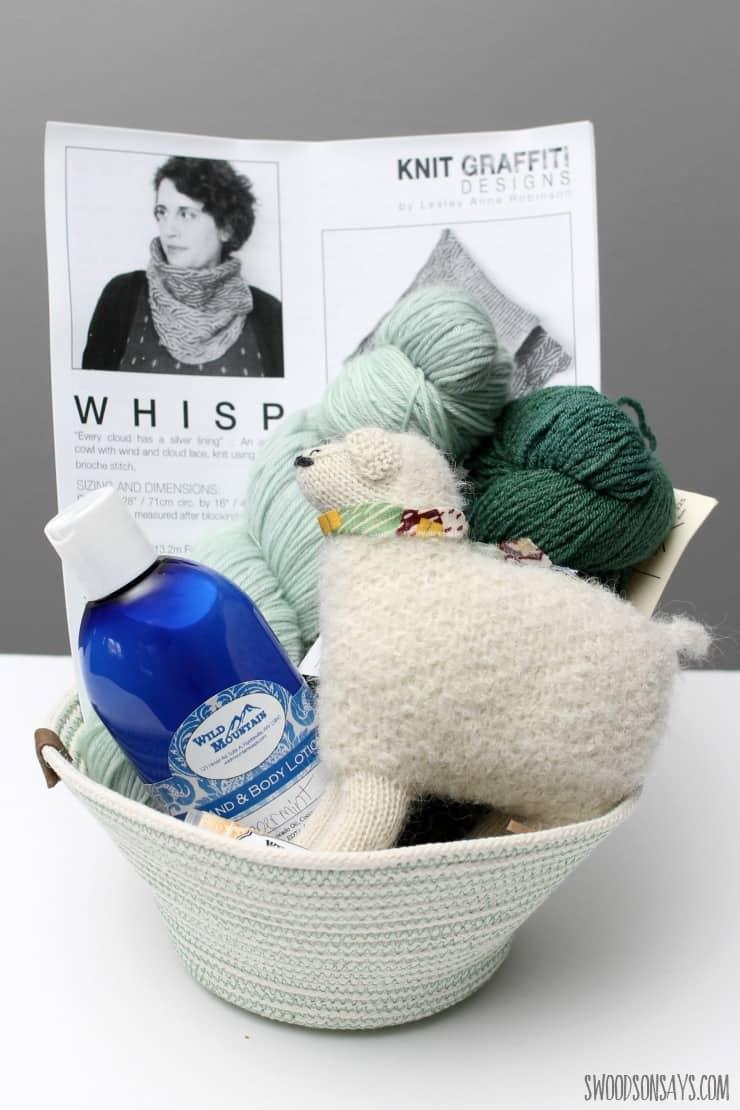 Knitter's Easter Basket For Teenage Girls