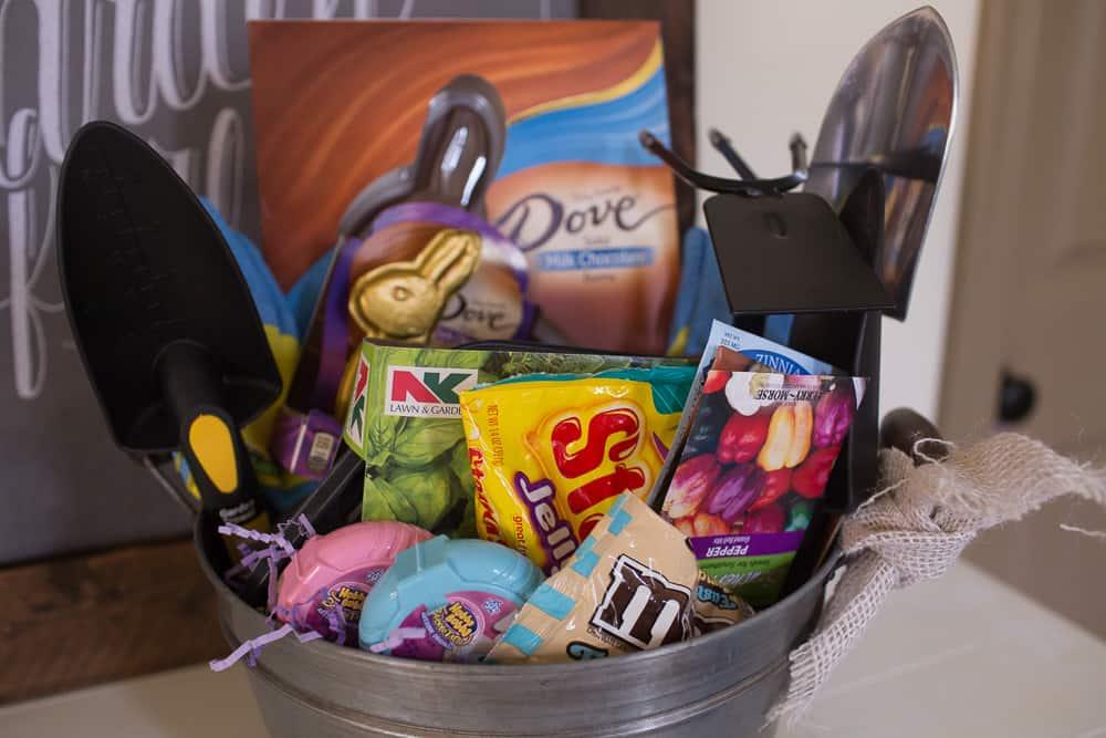 Gardening Themed Easter Basket For Teens