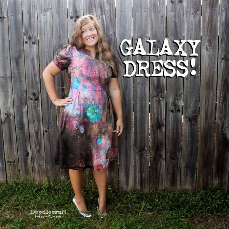 galaxy dresstie dye