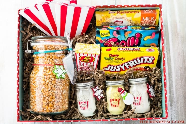 Movie Night Themed Easter Basket
