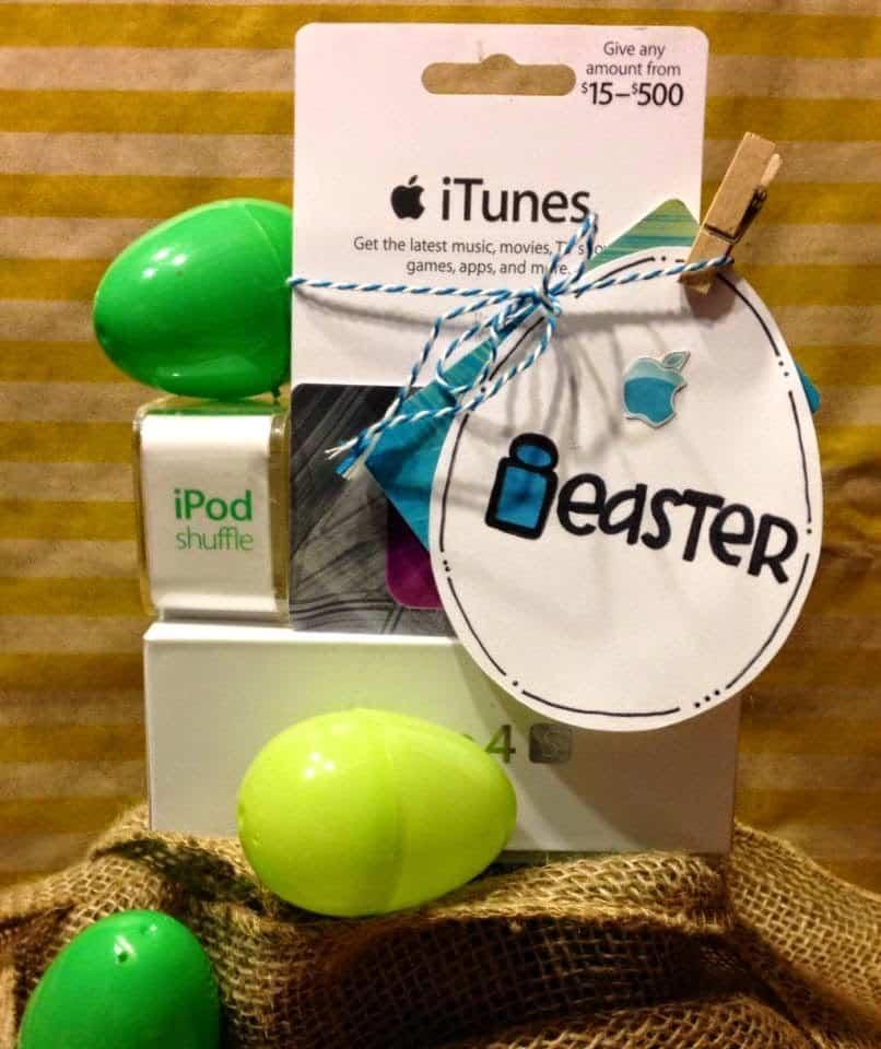 Gift of Music Easter Basket Gift Idea