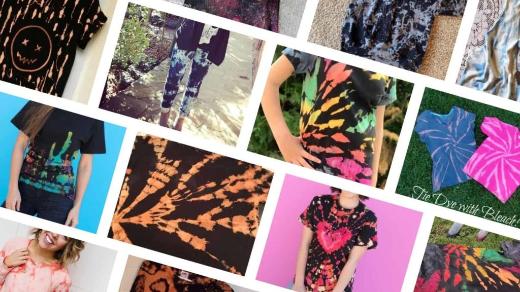 how to reverse tie dye with bleach