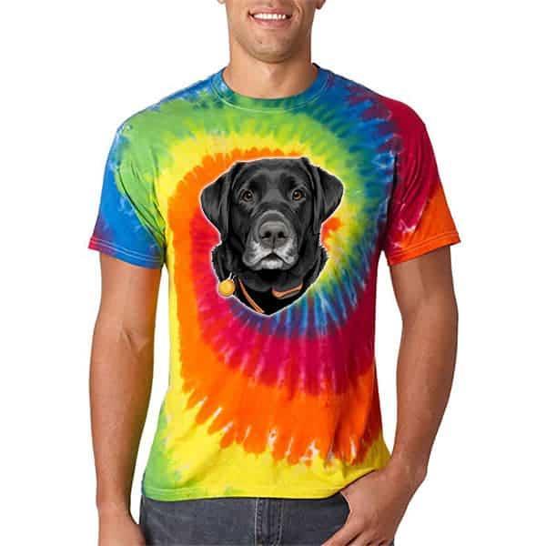 Gift Ideas For 13 Year Old Boys - FurbabyPrints Tie Dye Tshirt