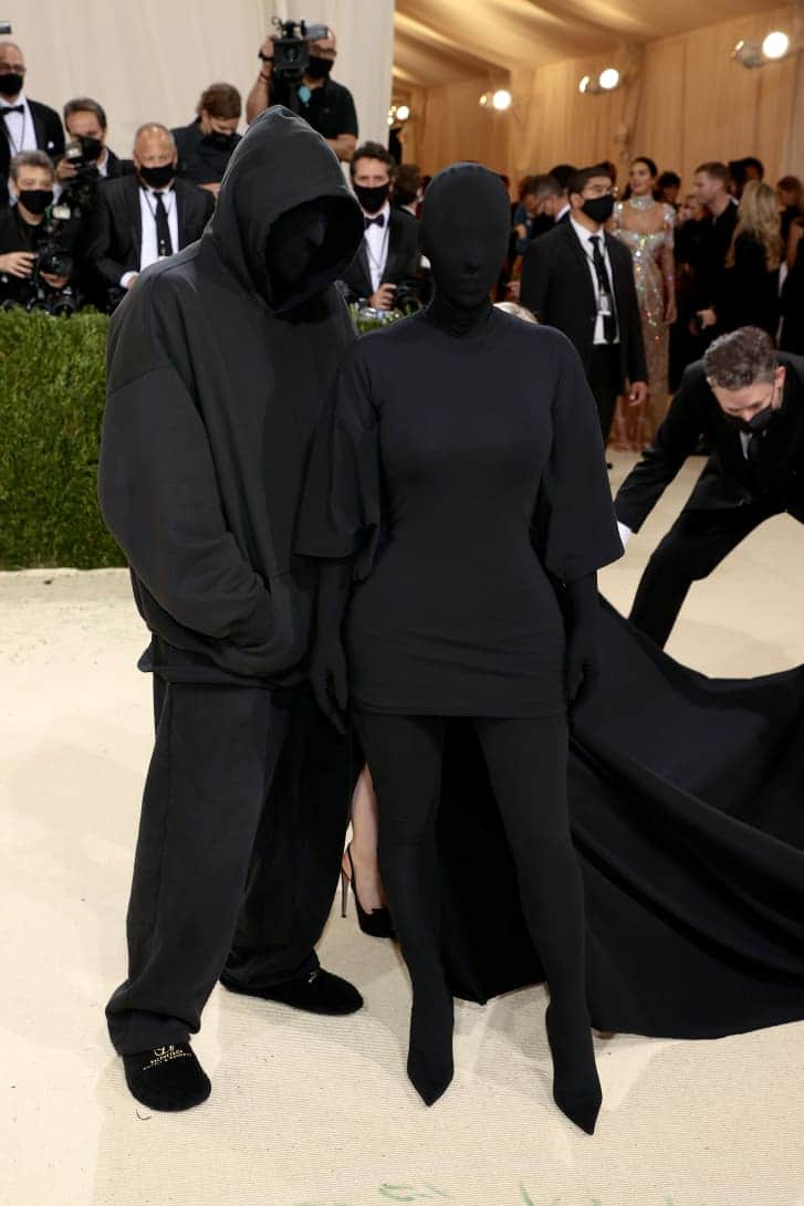 Demna Gvasalia & Kim Kardashian met gala