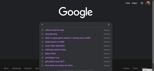 browsing history on google chrome