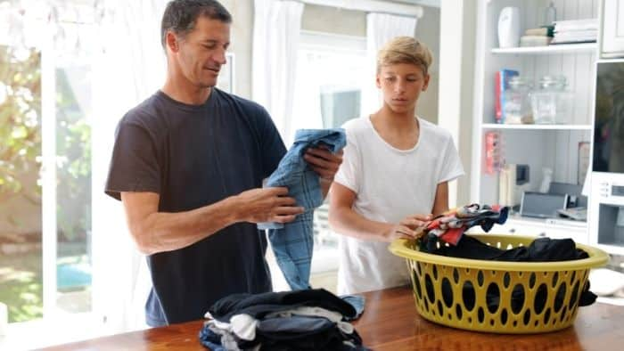 chores for teens - laundry
