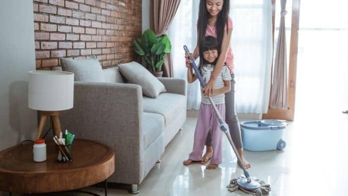 chores for teens - teach siblings